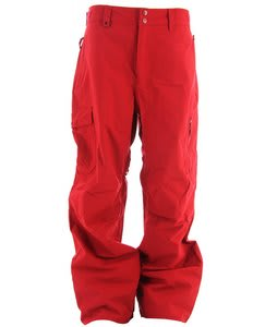 Quiksilver Surface Shell Snowboard Pants Red
