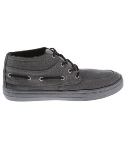 Quiksilver Surfside Mid Plus Shoes Dark Grey/Black