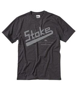 Quiksilver Surf Stoke T-Shirt Charcoal Heather