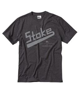 Quiksilver Surf Stoke T-Shirt Dark Charcoal Heather