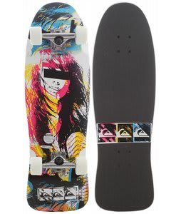 Quiksilver Survive Longboard Skateboard White