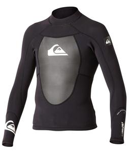 Quiksilver Syncro 1.5m Ls Neoprene Top Black/White