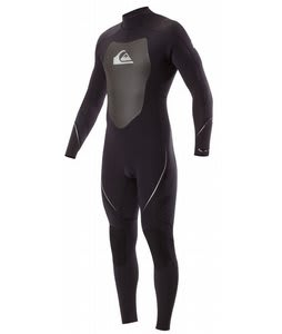 Quiksilver Syncro 4/3 Back Zip GBS Wetsuit Black/White