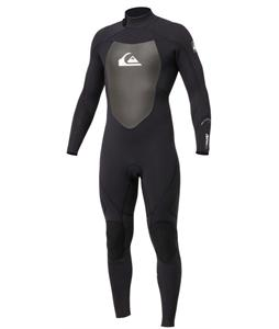 Quiksilver Syncro 4/3m Wetsuit Black/White