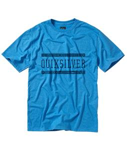 Quiksilver Terrain T-Shirt Blue Velvet Heather