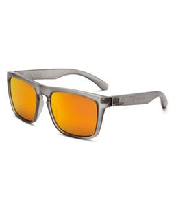 Quiksilver The Ferris Sunglasses Transparent Black/Mc Red Lens