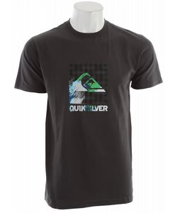 Quiksilver The Mostest Slim Fit T-Shirt Dark Charcoal