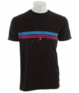 Quiksilver Treason Neon T-Shirt Black