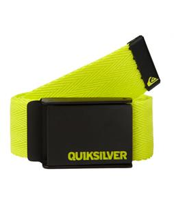 Quiksilver Triple Indy Belt Lime Green