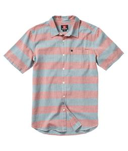 Quiksilver Tube Prison Shirt Brick Red