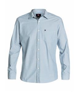 Quiksilver Ventures L/S Shirt Bluestone