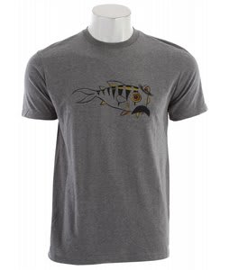 Quiksilver Whiskers T-Shirt Smoke Heather