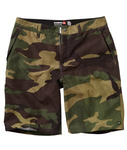 Quiksilver Wombat Shorts Batfox Camo
