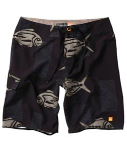 Quiksilver Woodblock Boardshorts Black