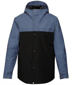 Quiksilver Act 3N1 Snowboard Jacket Vintage Indigo/Caviar