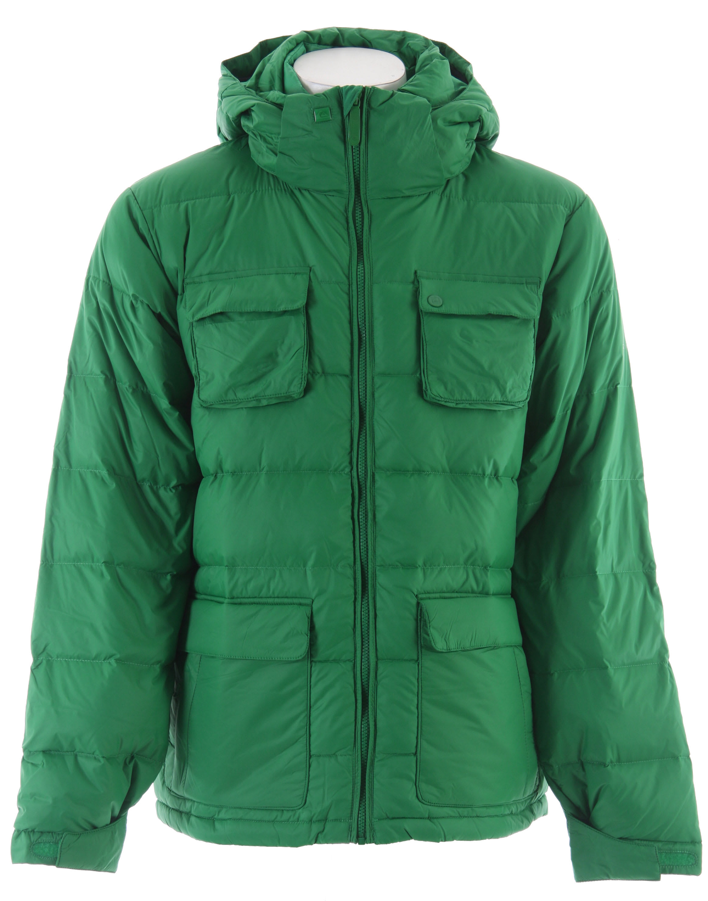 Shop for Quiksilver Aero Insulated Snowboard Jacket Green - Men's