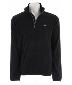 Quiksilver Aker Half Zip Fleece Black