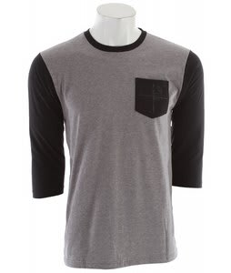 Quiksilver Alchemy Raglan Smoke Heather