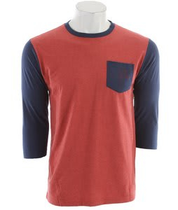 Quiksilver Alchemy Raglan Tomato Red