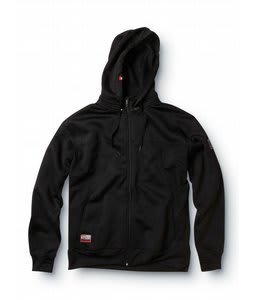 Quiksilver Art Of Flight Hoodie Black