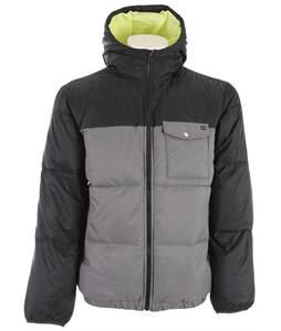Quiksilver Baran Jacket Dark Charcoal