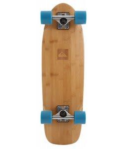 Quiksilver Classic Longboard Skateboard White