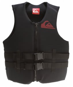 Quiksilver Covert USCG Vest Black/Red