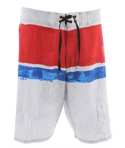 Quiksilver Cypher Kelly Nomad Boardshorts White