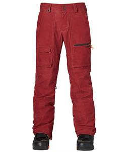 Quiksilver Dark And Stormy Snowboard Pants Syrah
