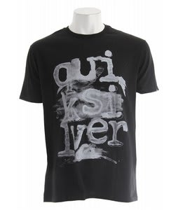 Quiksilver Deep End T-Shirt Black