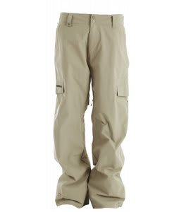 Quiksilver Drill Insulated Snowboard Pants Tan