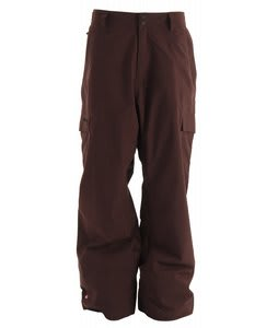 Quiksilver Drill Shell Snowboard Pants Burgundy
