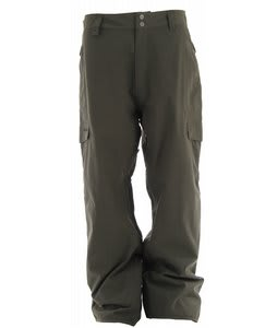 Quiksilver Drill Shell Snowboard Pants Dark Army