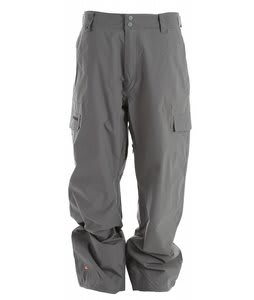 Quiksilver Drill Shell Snowboard Pants Smoke