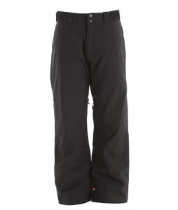 Quiksilver Drizzle Solid Insulated Snowboard Pants Black