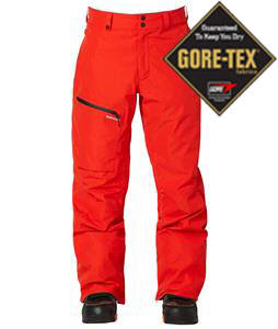 Quiksilver Dublin 2L Gore-Tex Snowboard Pants Fiery Red