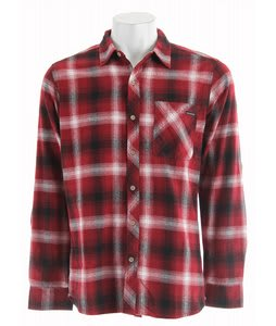 Quiksilver Fog L/S Shirt Rich Red