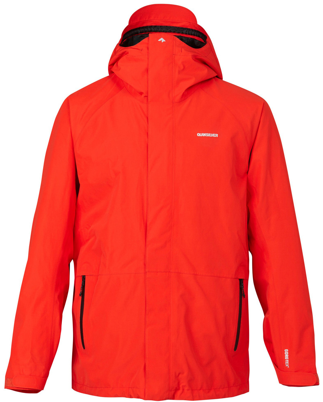 Quiksilver mens jacket - Quiksilver Forever 2l Gore Tex Snowboard Jacket Thumbnail 1