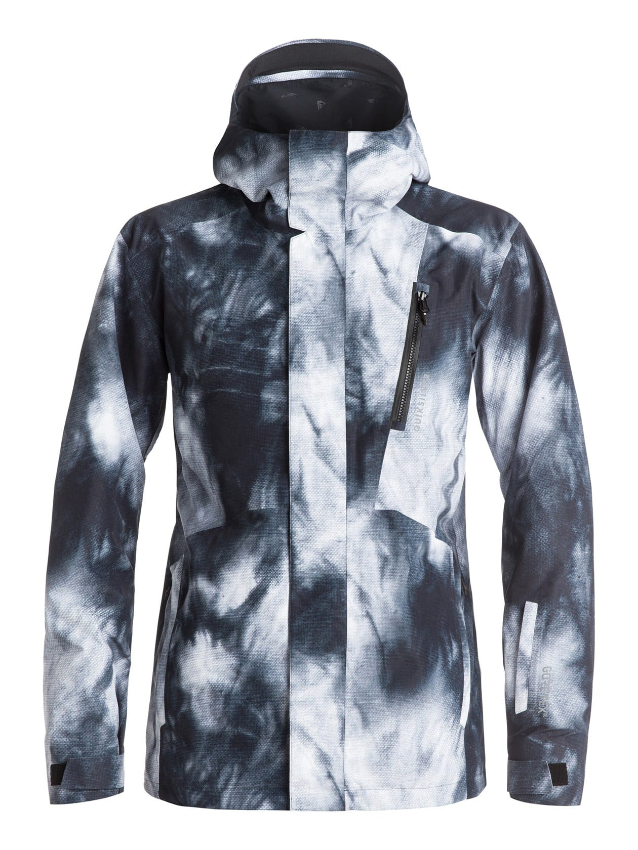Quiksilver mens jacket - Quiksilver Forever Printed Gore Tex Snowboard Jacket