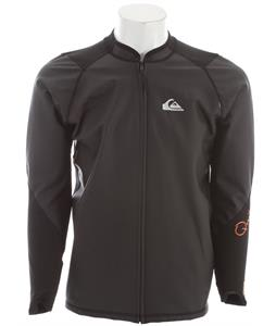 Quiksilver Front Zip Paddle Jacket Black