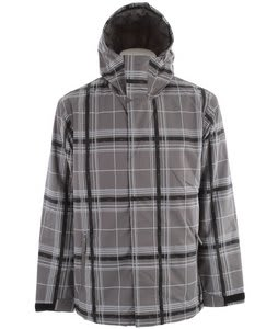 Quiksilver Grid Snowboard Jacket Smoke