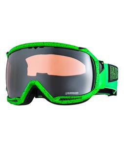 Quiksilver Hubble Goggles Acid Green/Hd Mirror Lens
