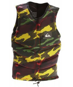 Quiksilver Identity Vest Rasta