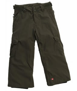 Quiksilver Impulse Snowboard Pants Dark Army