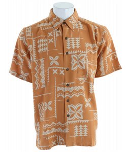 Quiksilver Izu Island Shirt Orange