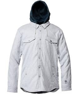 Quiksilver Keep Going Riding Shirt Blue Indigo