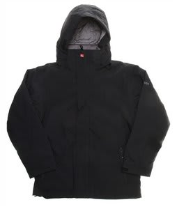 Quiksilver Last Mission Solids Snowboard Jacket Black