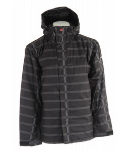 Quiksilver Last Ride Snowboard Jacket Black Bandajack
