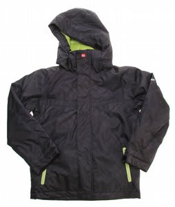 Quiksilver Last Mission Prints Snowboard Jacket Black