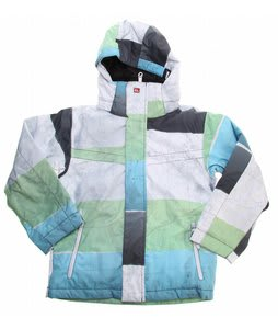 Quiksilver Last Mission Prints Snowboard Jacket White